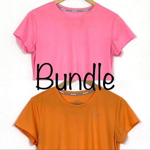 Nike Running Dri-FIT Challenger T-shirt Bundle L